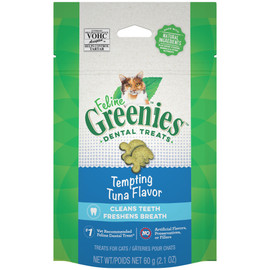 Feline Greenies Tempting Tuna Flavor Cat Dental Treats