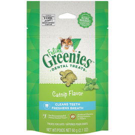 Feline Greenies Catnip Flavor Cat Dental Treats