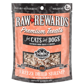 Raw Rewards Freeze Dried Shrimp Cat & Dog Treats