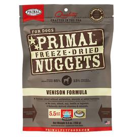 Primal Venison Formula Raw Freeze-Dried Dog Food - Front