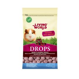 Living World Drops Berry Flavor Guinea Pig Treats
