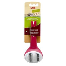 Living World Self-Cleaning Small Animal Slicker Brush
