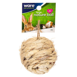 Ware Natural Ball Small Animal Chew Toy