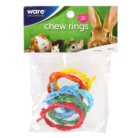 Ware Chew Rings Small Animal Toy