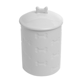 Park Life Designs Manor White Pet Treat Jar