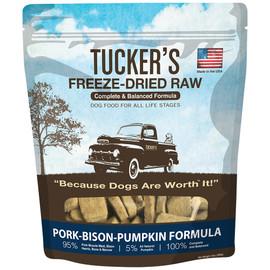 Tucker's Freeze-Dried Raw Pork-Bison-Pumpkin Recipe Dog Food