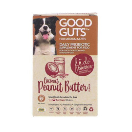 Good Guts for Medium Mutts Daily Probiotic Supplement for Dogs