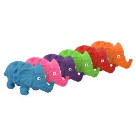 Multipet Origami Pals Elephant Latex Dog Toy
