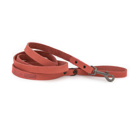 Classy Sport Style Coral Leather Dog Leash