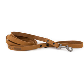 Classy Sport Style Tan Leather Dog Leash