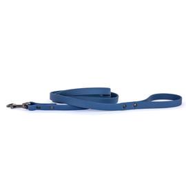 Classy Waterproof Soft PVC Navy Dog Leash