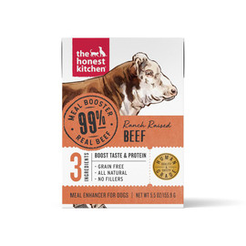 The Honest Kitchen Meal Booster 99% Beef Protein Dog Food Topper