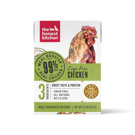 The Honest Kitchen Meal Booster 99% Chicken Protein Wet Dog Food Topper