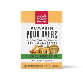 The Honest Kitchen Pumpkin Pour Overs Chicken & Pumpkin Stew Wet Dog Food Topper