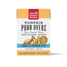 The Honest Kitchen Pumpkin Pour Overs Turkey & Pumpkin Stew Dog Food Topper