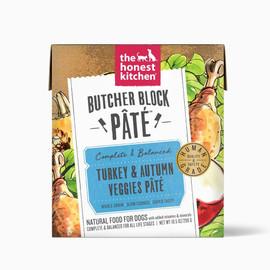 The Honest Kitchen Butcher Block Pate Turkey & Autumn Veggies Wet Dog Food