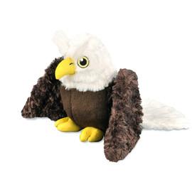 P.L.A.Y. Fletching Flock Edgar The Eagle Plush Dog Toy