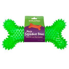 Gnawsome Mega Squeaker Bone Dog Toy