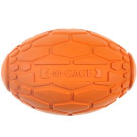 N-Gage Squeaker Football Dog Toy