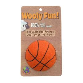 Wooly Fun! Basketball Dog Toy