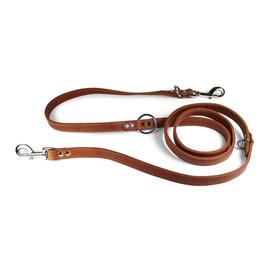 Luxe European Leather Dog Leash