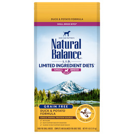 Natural Balance Limited Ingredient Diets Potato & Duck Small Breed Bites Dry Dog Food