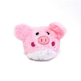 Patchwork Pet Prickles Pig Plush Dog Toy