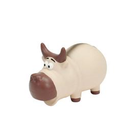 Rascals Latex Grunting Buffalo Dog Toy