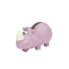 Rascals Latex Grunting Rhino Dog Toy