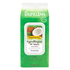 TropiClean Hypoallergenic Cat & Dog Wipes