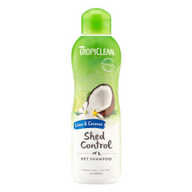 TropiClean Lime & Coconut Shed Control Cat & Dog Shampoo