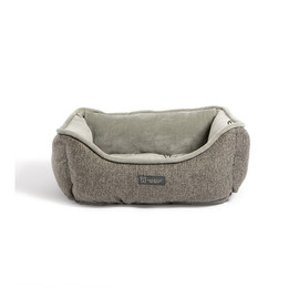 NanDog Dark Grey Fleece Pet Bed