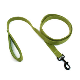 Fetch Your Own Adventure Eco-Friendly Woven Adjustable Dog Leash - Green