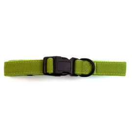 Fetch Your Own Adventure Eco-Friendly Woven Dog Collar - Front