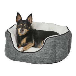 MidWest QuietTime Deluxe Evergreen Tulip Pet Bed