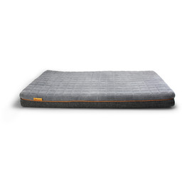 BeOneBreed Relaxation Dark Gray Dog Bed - Front