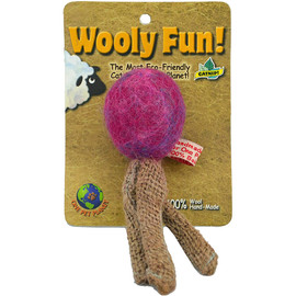 Wooly Fun! Triple Tail Cat Toy