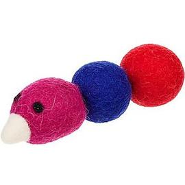 Wooly Fun! Caterpiller Cat Toy