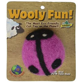 Wooly Fun! Lady Bug Cat Toy