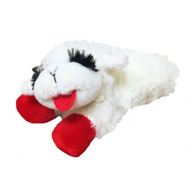 Multipet Lamb Chop Plush Dog Toys