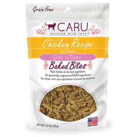 Caru Soft 'n Tasty Baked Bites Chicken Recipe Cat Treats