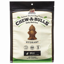 Redbarn Chew-A-Bulls Hydrant Dog Dental Chews