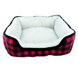 Slumber Pet Buffalo Plaid Dog Bed