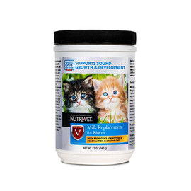 Nutri-Vet Milk Replacer with Opti-Gut for Kittens