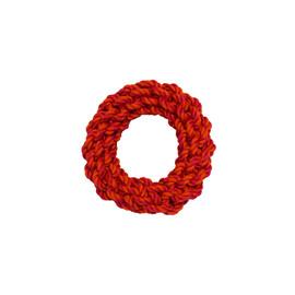 Amazing Pet Ring Rope Dog Toy - Orange & Pink