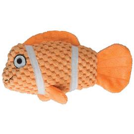 Patchwork Pet Tropical Fish Plush Dog Toy