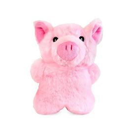 Allie's Toy Box Softy Pig Plush Dog Toy - Front