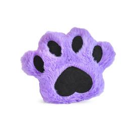 Allie's Toy Box Softy Paw Print Plush Dog Toy - Front