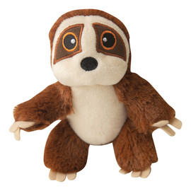 Snugarooz Baby Sasha the Sloth Plush Dog Toy - Front