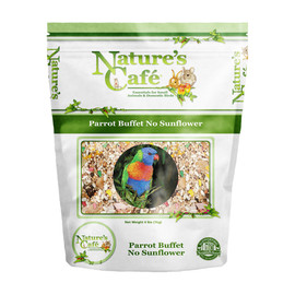 Nature's Cafe Parrott Buffet No Sunflower Bird Food